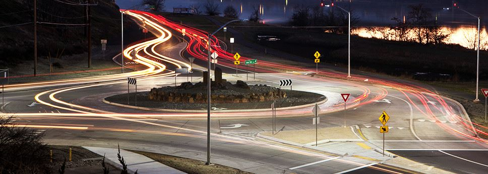 Snake River roundabout